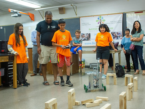 Week 3: Robotics: Disaster Relief - July 6th to July 9th