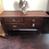 Thumbnail: Vintage wooden Low chest drawers