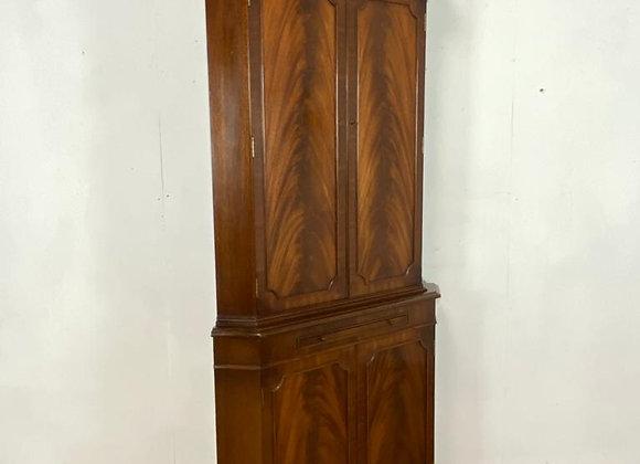 Vintage Corner Cocktail Cabinet with internal light