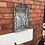 Thumbnail: Small Arched Rustic Garden Mirror Height 50cm