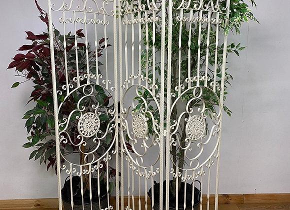 Metal Room Divider Art Nouveau Style  Partition