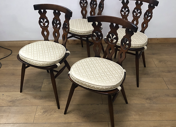 Set of 4 Vintage Ercol Chairs