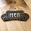Thumbnail: Art Nouveau Style Plaque Cast Iron Men Sign