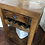 Thumbnail: Solid Wood Unit With Drawer And Bottle Holder