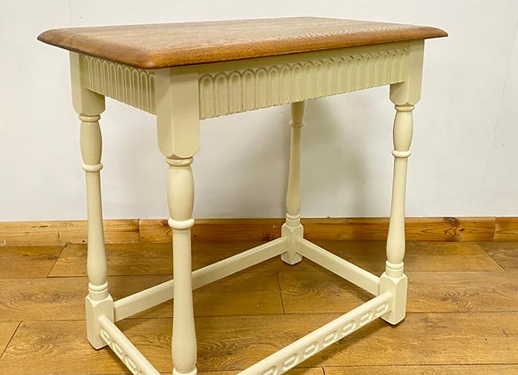 Vintage Console Table Shabby Chic