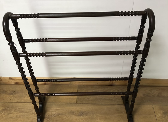 Antique Barley Twist Towel Rail