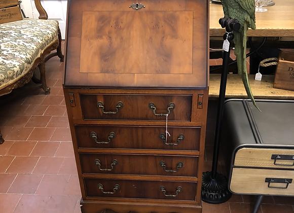 Vintage Yew Wood Bureau