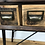 Thumbnail: Industrial Style Metal and Wood Console Table