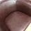 Thumbnail: Faux Leather Tub Chair
