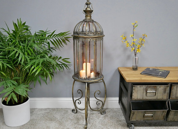 Lovely Floor Standing Candle Lantern