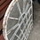 Thumbnail: Arched Rustic Window Shaped Mirror Outdoors or Indoors Height 60cm