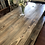Thumbnail: Rustic Industrial Style Table and 2 Benches