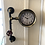 Thumbnail: Vintage Industrial Style pipe work Wall clock - Postage Available