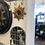 Thumbnail: Small Gold Sun Design Mirror - Frame Size 31cm