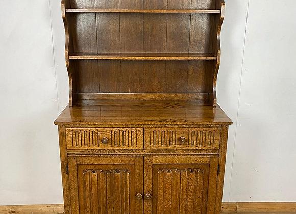 Vintage Welsh dresser Linen Fold Doors