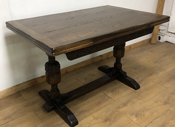 Lovely Vintage Extendable Draw Leaf Table