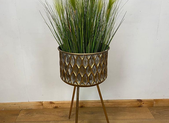 Planter with legs Round flower pot stand - Height 75cm