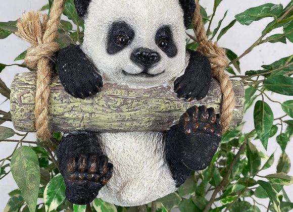 Swinging Panda on Rope - Postage Available