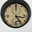 Thumbnail: Aviation Wall Clock Finished in Antique Black