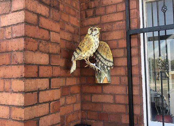Metal Owl Garden / Patio Ornament