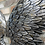 Thumbnail: Large Metal Angel Wings Wall Art | Silver