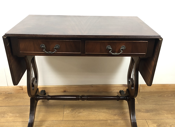 Drop leaf Console Table with 2 Drawers