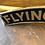 "Thumbnail: Large Cast Iron Flying Scotsman Sign 35"""