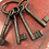 Thumbnail: Cast Iron Bunch of Decorative Keys Wall Hanging Ornament - Postage Available