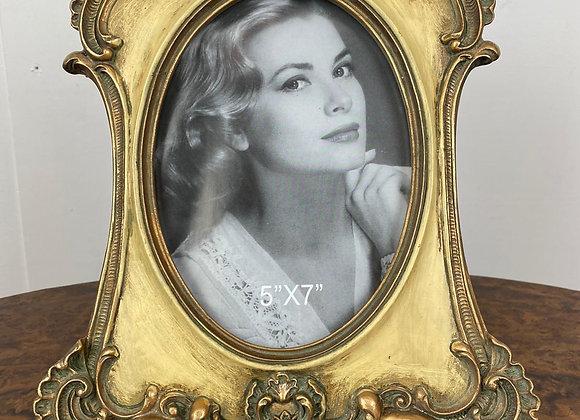Antique Style Gold / Cream Photo Frame