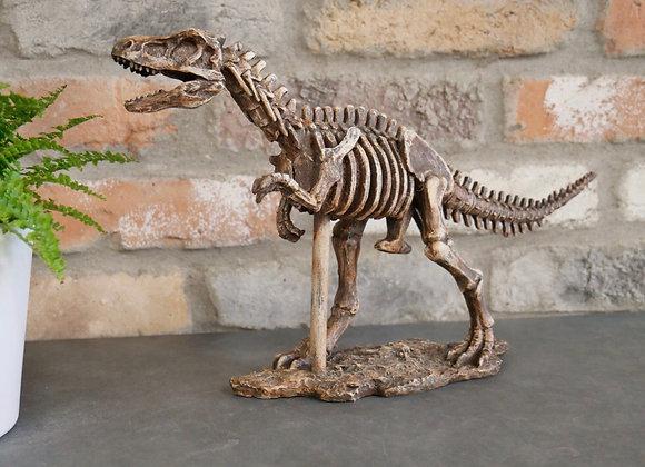 T-Rex Dinosaur Skeleton Ornament Sculpture Figure - Postage Available