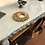 Thumbnail: Small Gold Sun Design Mirror - Frame Size 22cm
