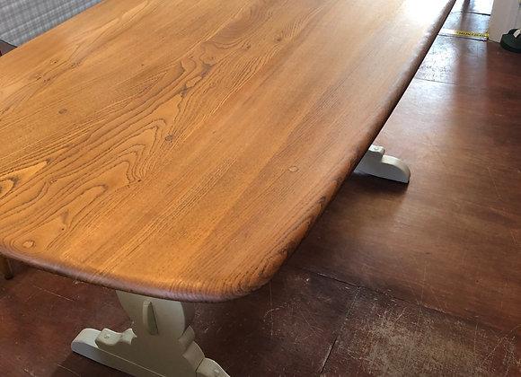 Vintage refurbished Ercol Dining Table