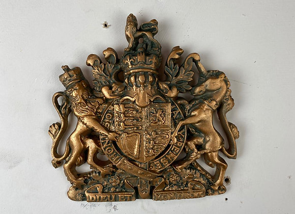 Small Coat of Arms wall plaque