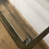 Thumbnail: Home Office Desk Industrial style metal desk with glass top