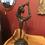 Thumbnail: A Bronze Garanti Sculpture of a Hoop Dancer