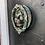 Thumbnail: Large Cast Iron Lion Door Knocker