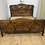 Thumbnail: Antique French Walnut Bed