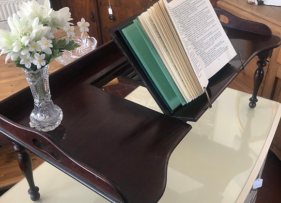 Antique Bed Tray with Lectern Carters of London