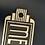 Thumbnail: Art Deco Style Plaque Cast Iron Men Sign
