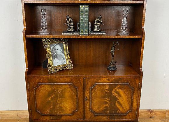 Vintage waterfall style bookcase