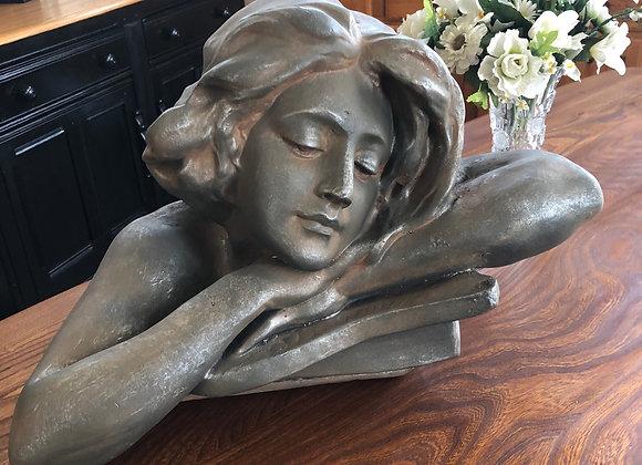 Lady Bust Sculpture