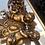 Thumbnail: Gold resin cherub wall plaque