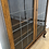 Thumbnail: Vintage wooden glazed bookcase with key
