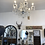 Thumbnail: Beautiful Crystal 6 Branch Shallow Chandelier