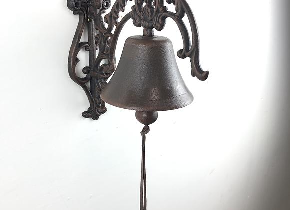 Cast Iron Ornate Bell