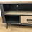 Thumbnail: Rounded Edge Metal And Wood Media Unit