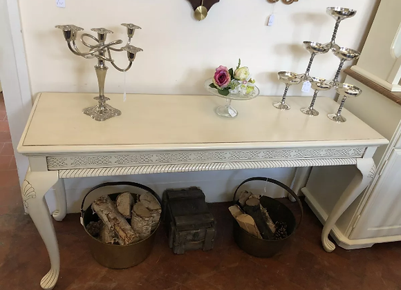 Long Console Table Shabby Chic