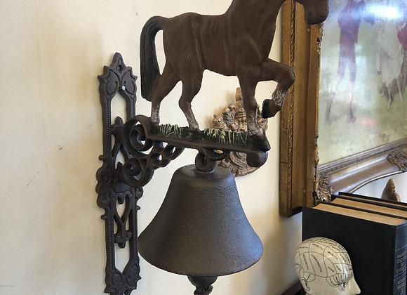 Cast Iron Horse Bell