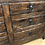 Thumbnail: Solid Oak Vintage Sideboard with 6 Drawers