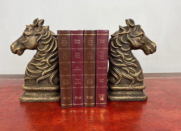 Beautiful Pair Horse Head Bookends